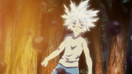 Killua sees Gon