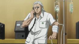 Morel in hospital