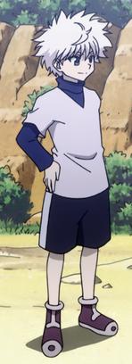 Killua Normal Outtfit