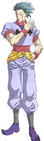 hisoka kana           r  maji hisoka also known as hisoka theHunter X Hunter 2011 Hisoka Voice Actor