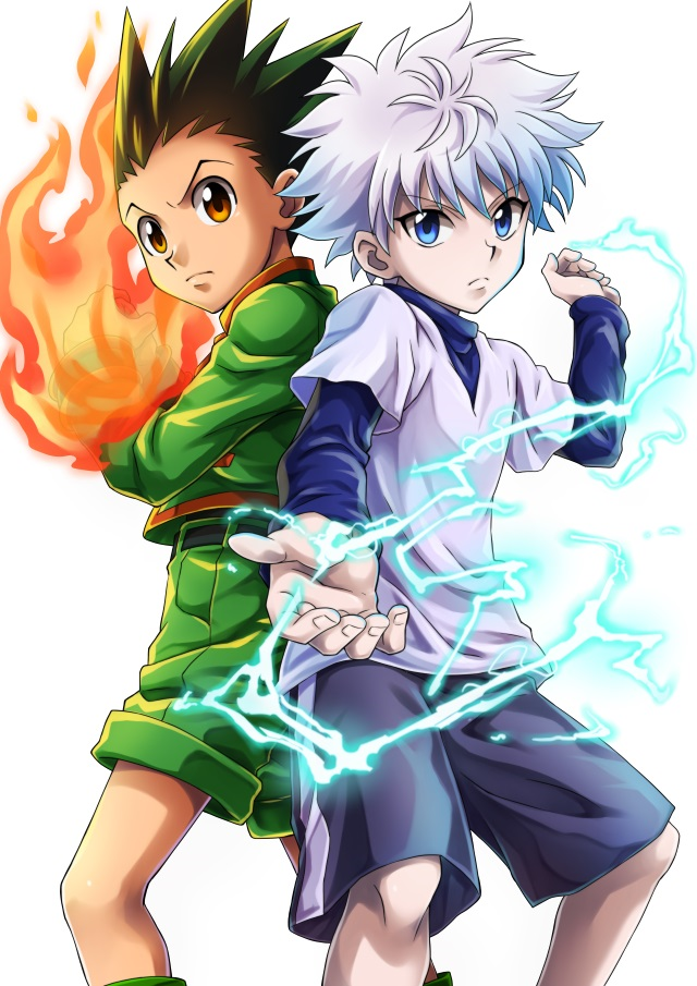 Image result for gon and killua