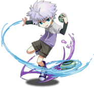 Killua - HUNTER×HUNTER Monster Series Collaboration