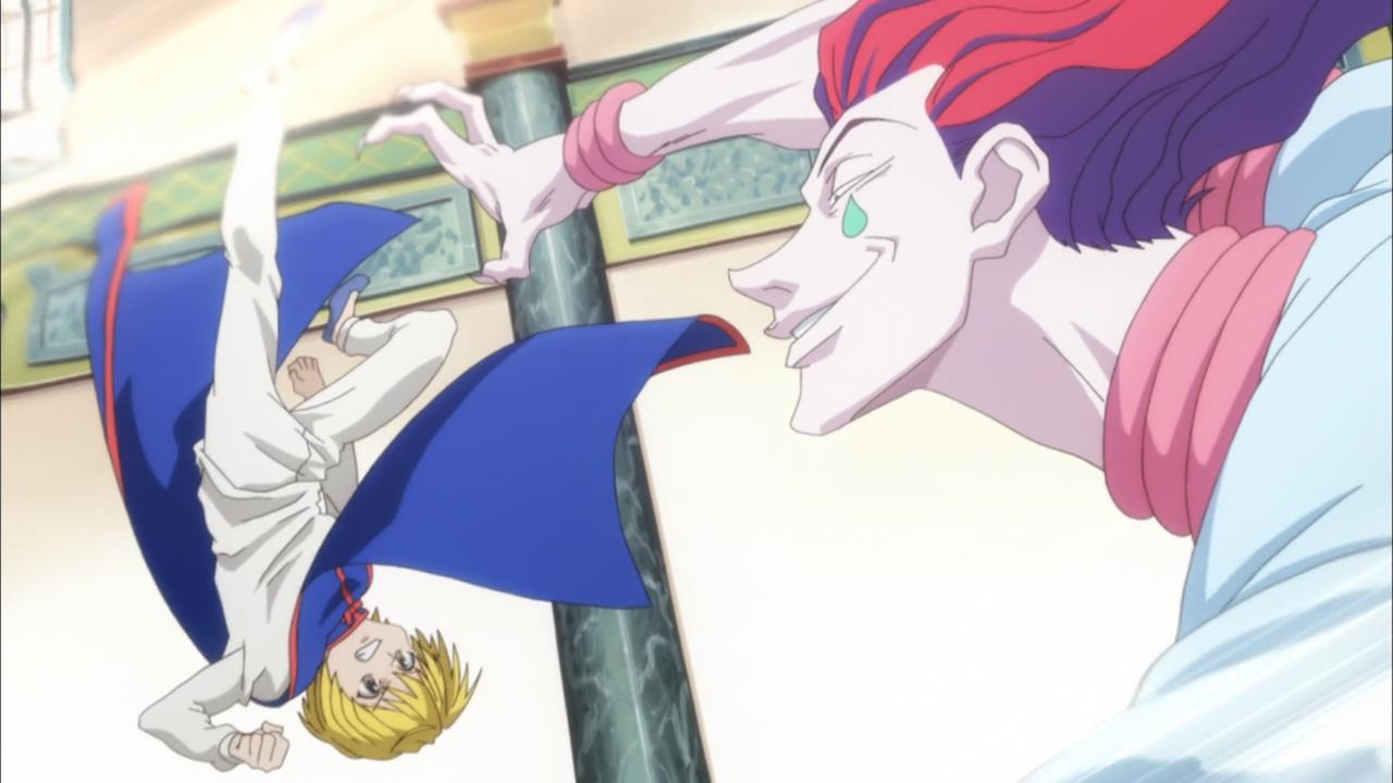Hunter x Hunter Kurapika vs Spider Boss Kurapika vs Hisoka