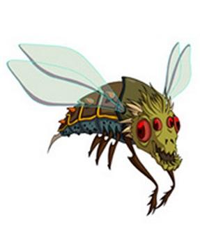 Huntik Titans Bazela_Insect