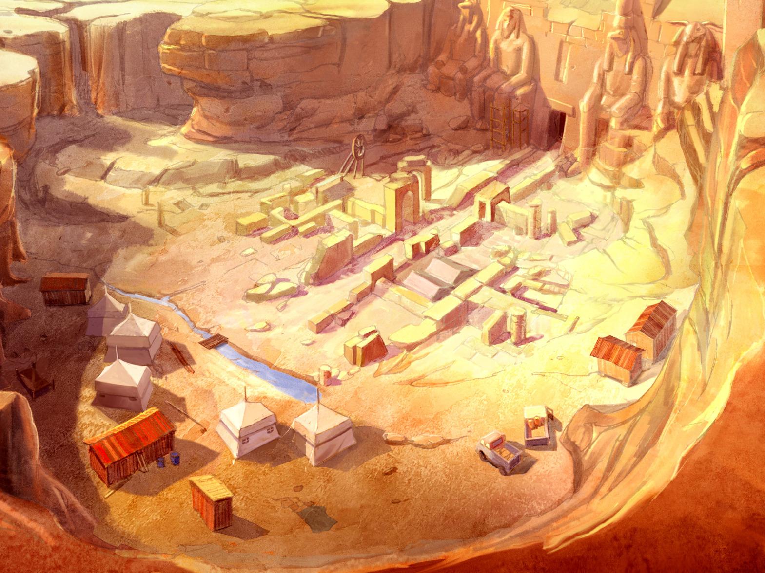Tomb Of Nefertiti Game