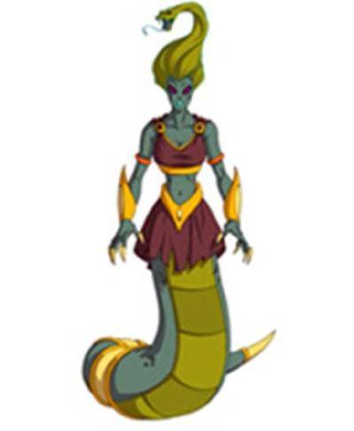 Huntik Titans Medusa