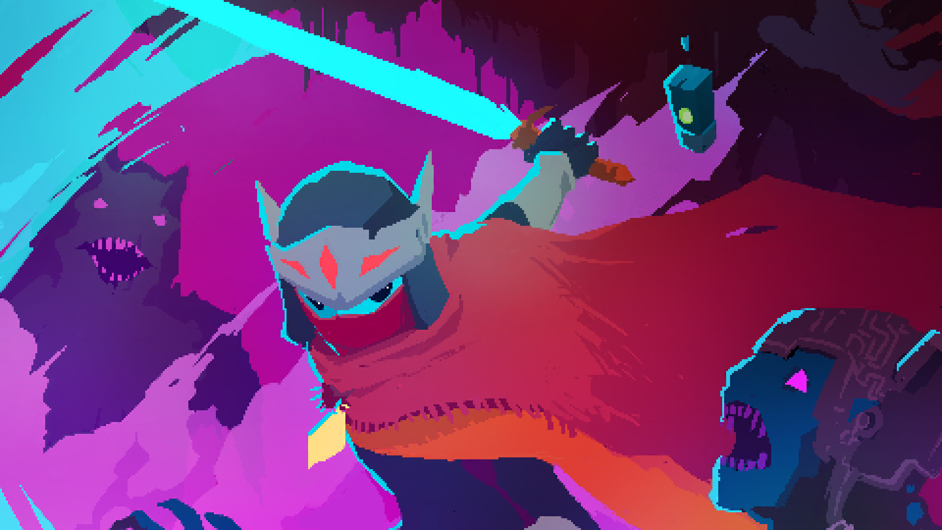 Hyper Light Drifter, Video Games, Pixels Wallpapers HD / Desktop ...