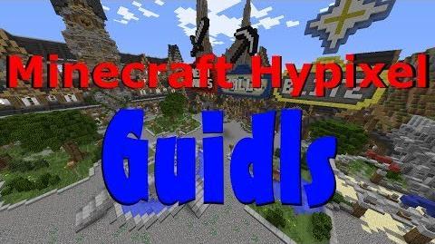 Minecraft Hypixel Explaining Guilds