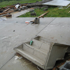 EF5 damage in Bridgeport, AL after the 2011 Super Outbreak