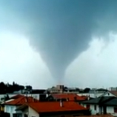 This beautiful tornado, later rated F3, struck Venice, Italy in 2014, killing 3 people in the process