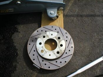Wheel stud replacement 005