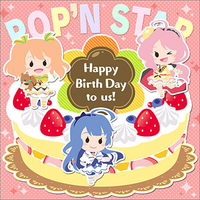 Happy Birth Day to us!