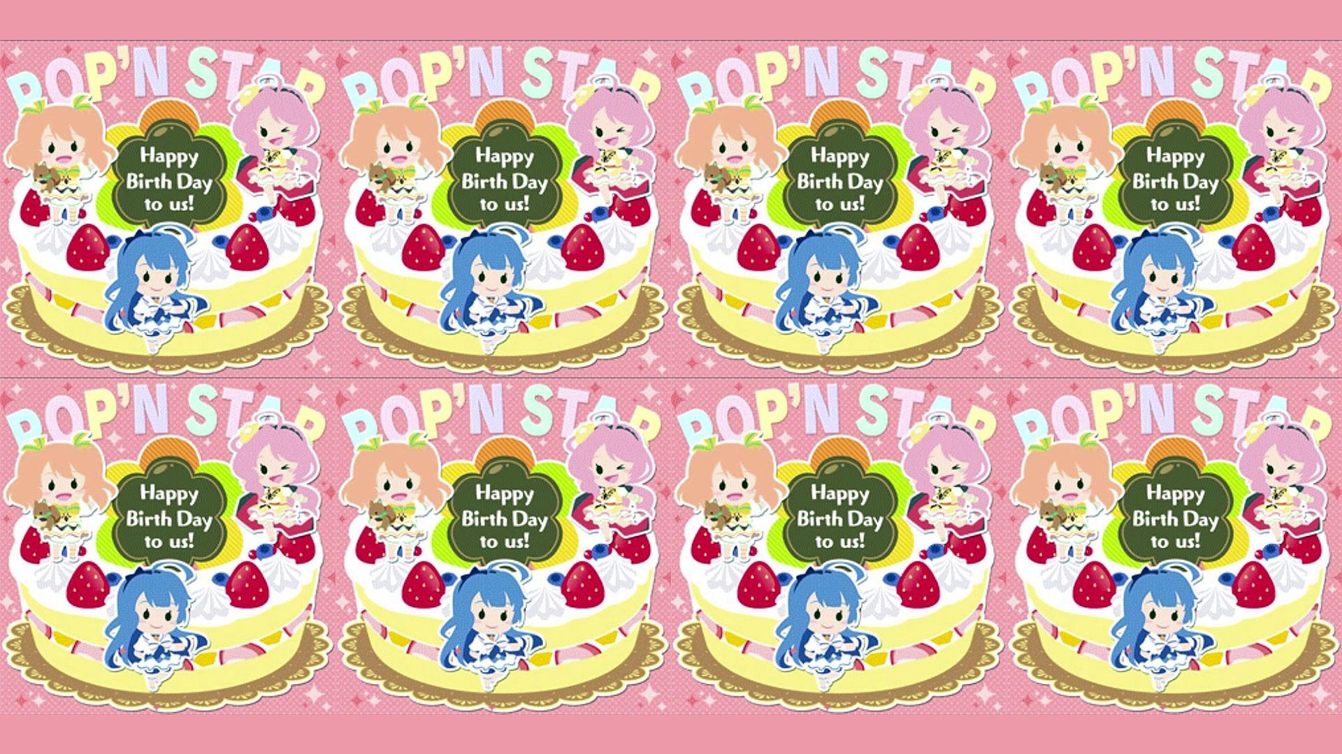 Happy Birth Day to us! - POP'N STAR