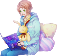 (Reading Week Scout) Kanata Minato SR Transparent
