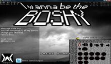I Wanna Be The Boshy Title Screen-0