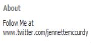 Jennette about - fb
