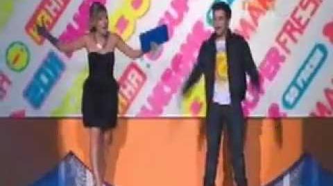 Jennette McCurdy & Nathan Kress - Australian Kids Choice Awards 2011