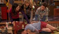 Spencer saves a chick iHC
