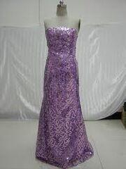 Carlys purple dress
