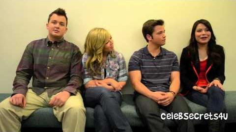 """ICarly Cast """"iShock America"""" Interview feat"""