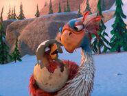 Ice Age The Great Egg-Scapade Diatryma Parent and chick, aka Beaky Birds