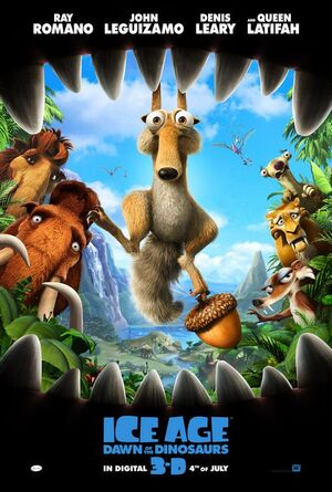 Ice Age Dawn of the Dinosaurs Poster