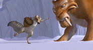 Scrat Points To Diego