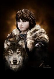 Brandon stark by sykaaa-d4ptssv