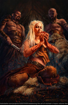 Fire and blood by michael c hayes-d74jlwu