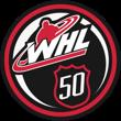 WHL 50th logo