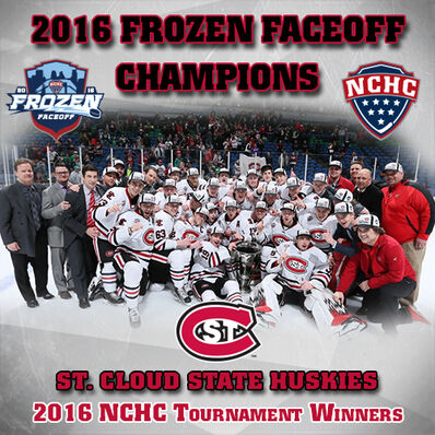 2016 NCHC champs St. Cloud State