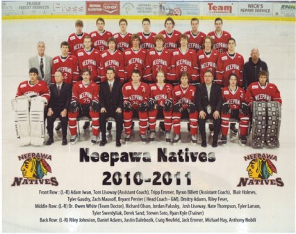 2010-11 Neepawa Natives