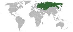 Location USSR