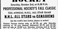 13th National Hockey League All-Star Game