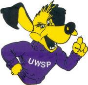 Wisconsin Stevens Point old logo