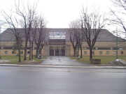 Kingston Memorial Centre exterior