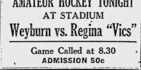 1922-23 Saskatchewan Senior Playoffs