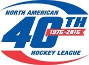 NAHL 40th logo
