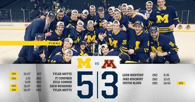 2016 Big 10 champs Michigan