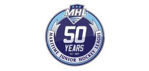 MJAHL 50th Aniversary logo