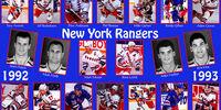 1992–93 New York Rangers season