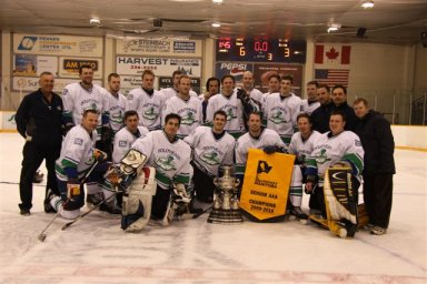 South East Prairie Thunder 2010 Manitoba Senior AAA champions