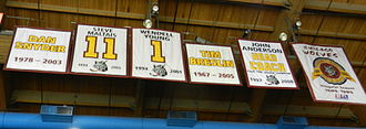 Wolves Retired Banners