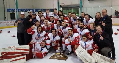 2016 CJHL champs North Edmonton Red Wings