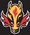 Calgary Flames horse head logo