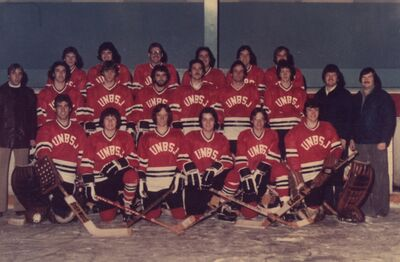 UNBSJ RED BARONS 1978-79