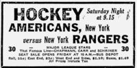 1937–38 New York Rangers season