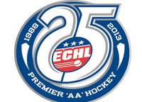 ECHL 25th anniversary logo