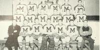 MetJHL Standings 1950-51