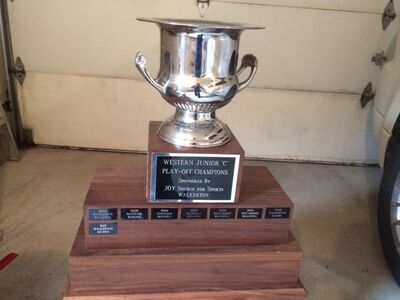 WOJCHL championship trophy